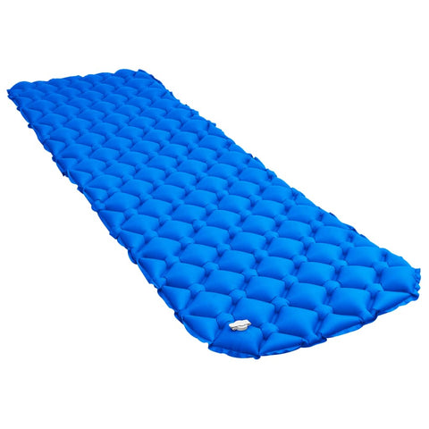 Inflatable Air Mattress 58x190 cm Blue