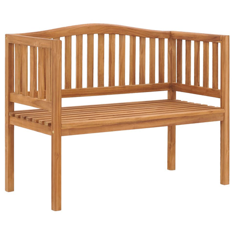 Garden Bench 120 cm Solid Teak Wood