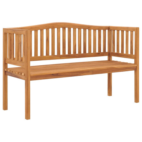 Garden Bench 150 cm Solid Teak Wood