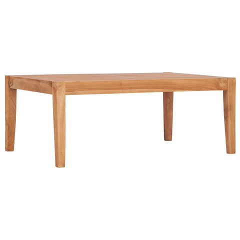 Garden Table 90.5x55.5x30.5 cm Solid Teak Wood