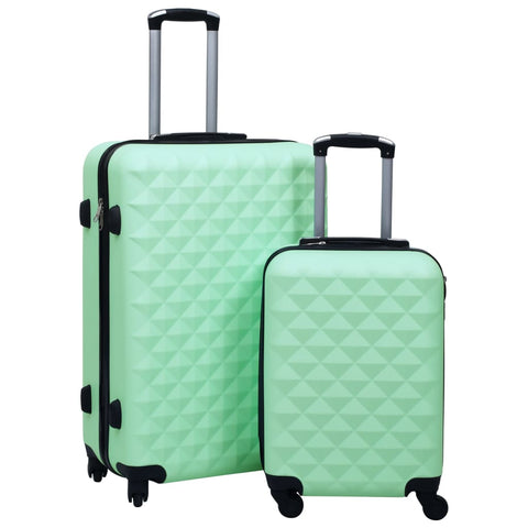 Hardcase Trolley Set 2 pcs Mint ABS