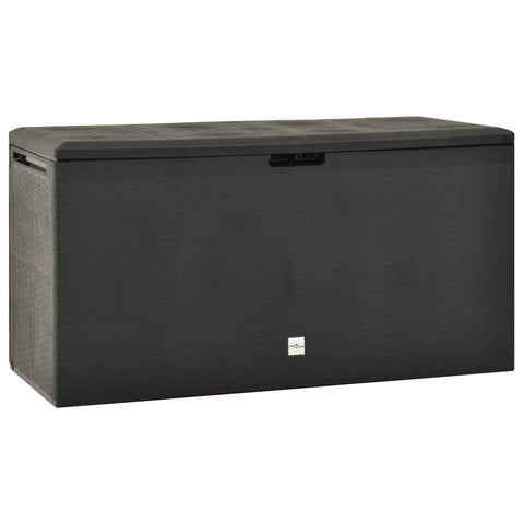 Garden Storage Box Anthracite 114x47x60 cm