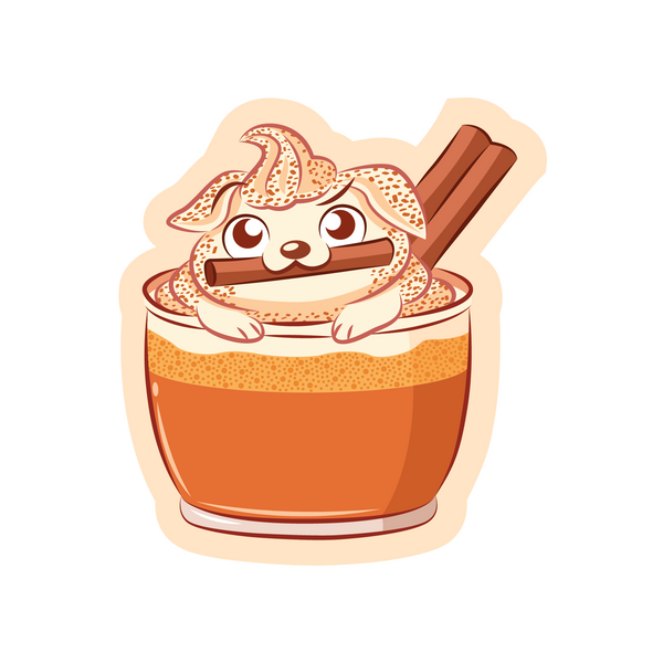 Pupkin Spice Latte Sticker