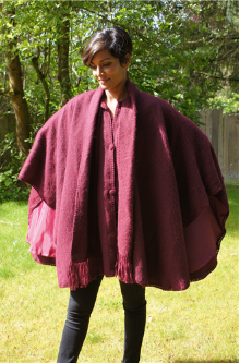 Alpaca Lined Cape
