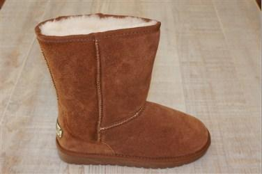 Sheepskin Rugged Sole Boot