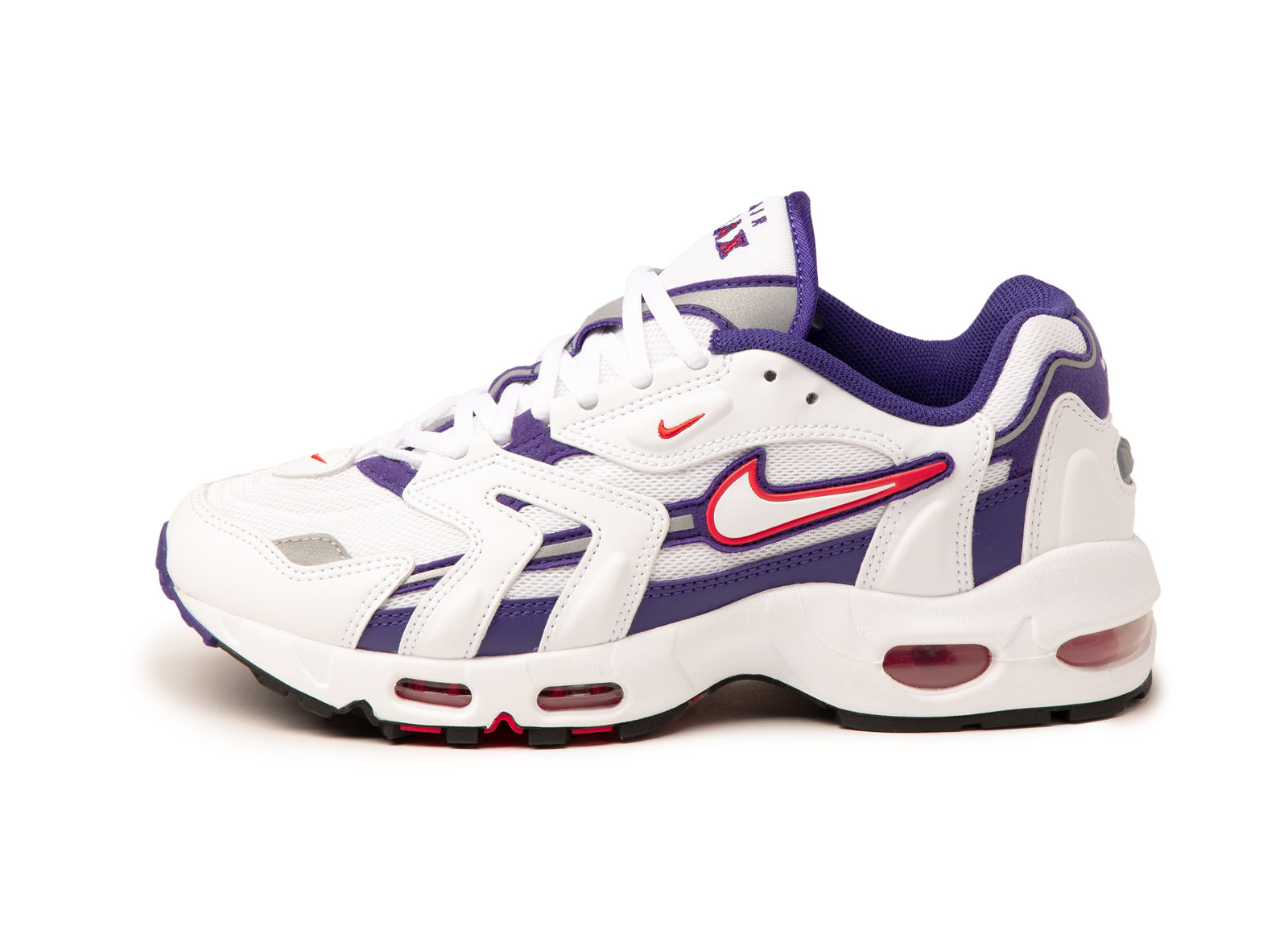 Nike Wmns Air Max 96 II (White / Comet Red / Grape Ice)