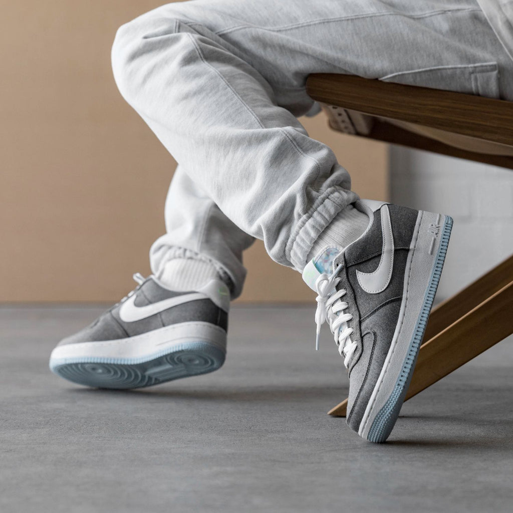 Nike Air Force 1 '07 *Recycled Canvas* (Iron Grey / White / Barely ...