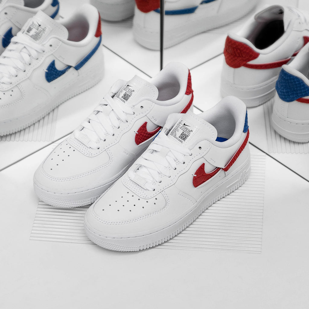 Nike Wmns Air Force 1 LXX (White / Game Royal / University Red ...