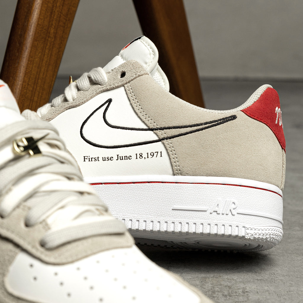 Nike Air Force 1 '07 *First Use* (Light Stone / Black / Sail ...
