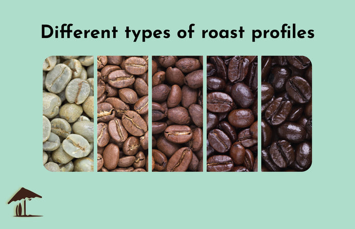 Different types of roast profiles
