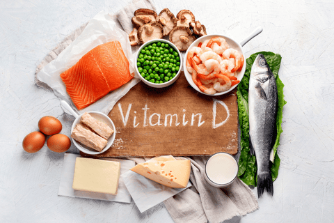 What foods are rich in vitamin D?