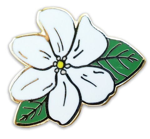 Naʻū (Hawaiian Gardenia) pin