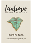 Peʻahi fern pin
