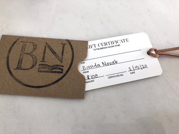 The Brenda Novak Store Gift Card