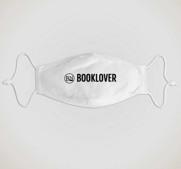 Bookish Mask and Mask Clip