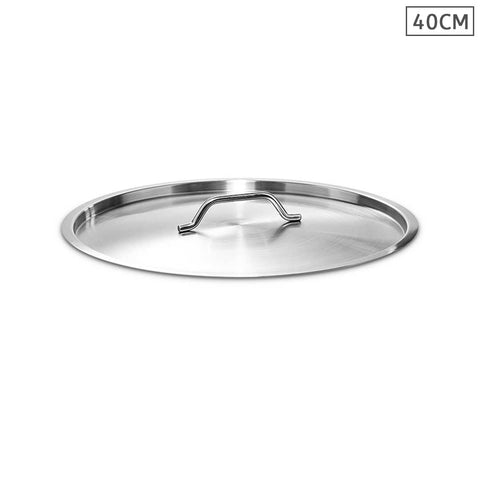 40cm Top Grade Stockpot Lid Stainless Steel Stock pot Cover