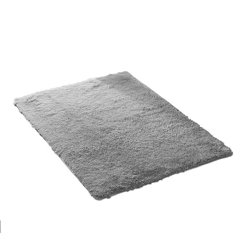 Designer Soft Shag Shaggy Floor Confetti Rug Carpet Home Decor 80x120cm Grey