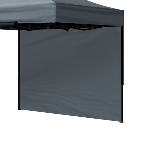 Mountview Gazebo Walls 3x3 Outdoor Side Wall Waterproof Party Wedding Dark Grey