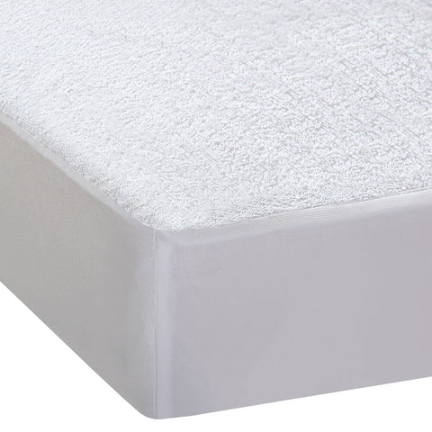 DreamZ Terry Cotton Fully Fitted Waterproof Mattress Protector in Double Size