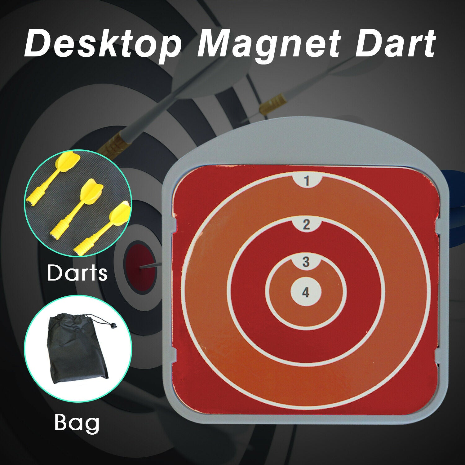 New Home Office Entertainment Desktop Magnet Dart Pressure Relief Fun Toy
