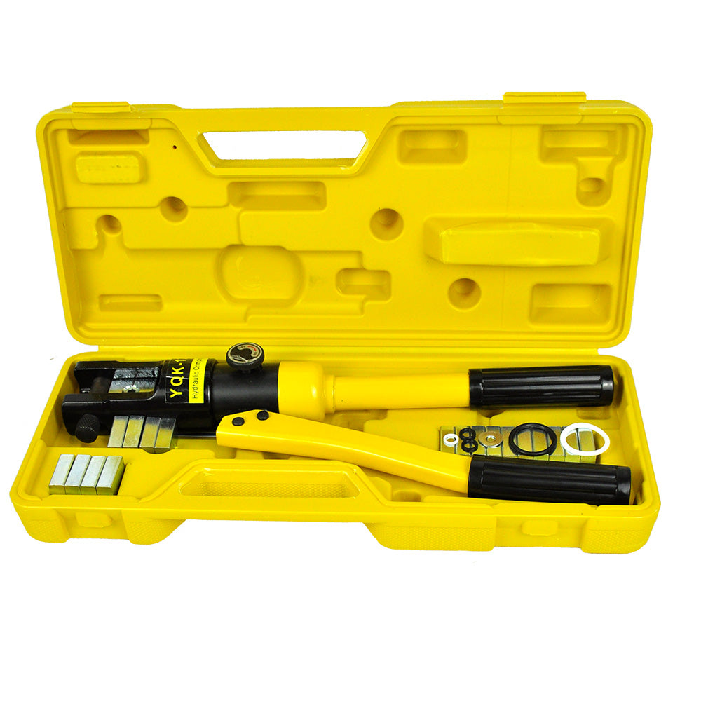 Heavy Duty Hydraulic Swaging Tool Kit for Stainless Wire Crimping and Steel Dies