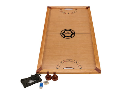 Shuffle Puck Wooden Ice Hockey Game