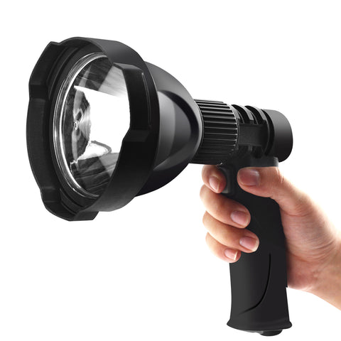 LED Handheld Spotlight Rechargeable Camping Hunting Flashlight Torch Spot Light