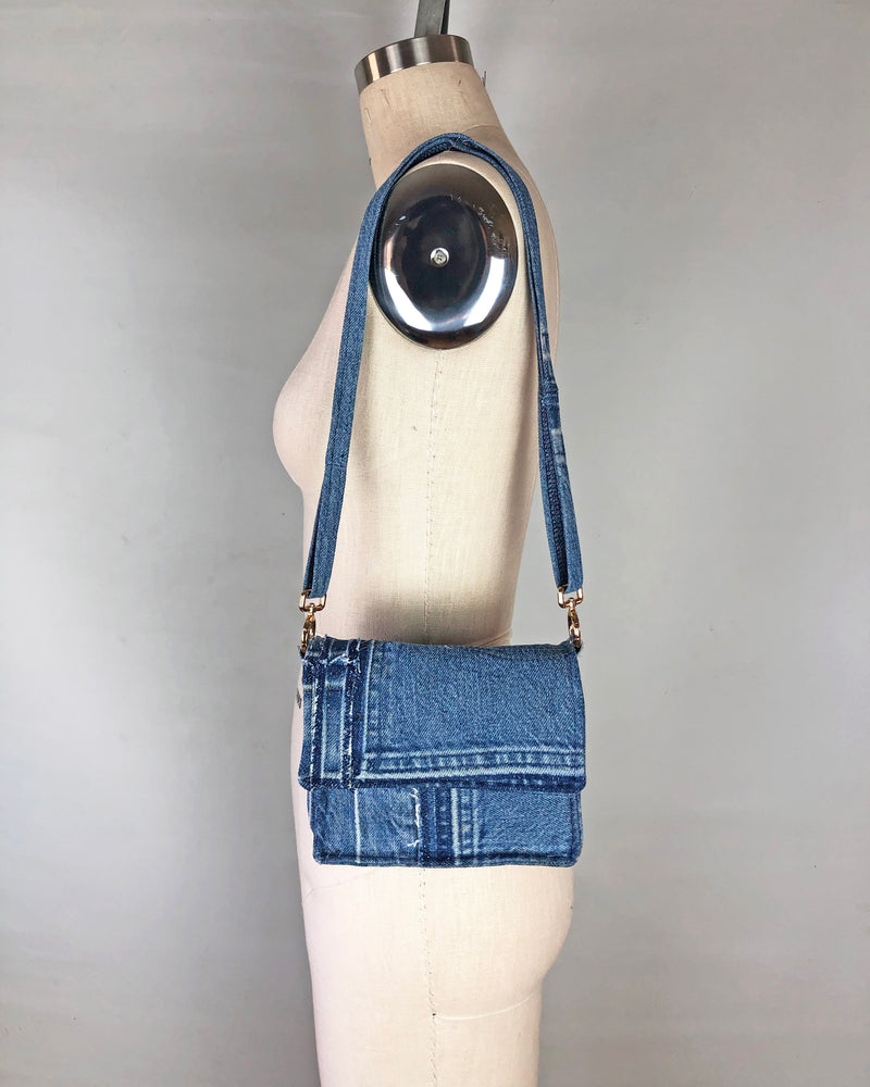 Denim Crossbody Purse