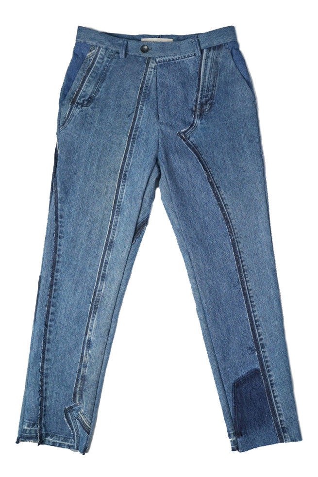 Two Deconstructed Jeans