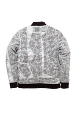 Quilted Shirt Bomber