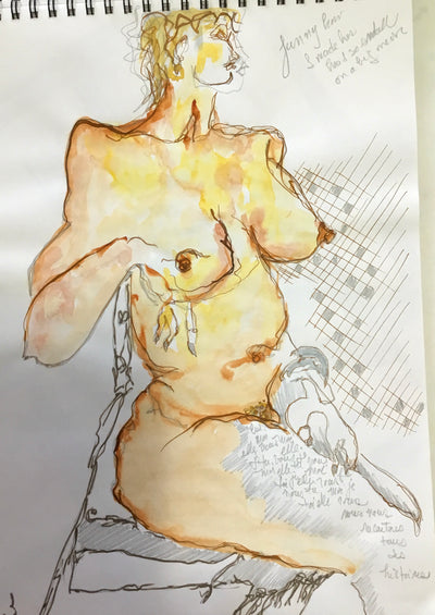Life Drawing from rock painting to moving image
