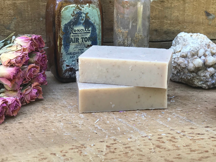 Almond Oats Soap
