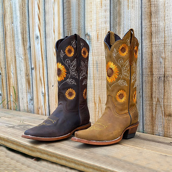 Sunflower Blue Women/'s Leather Boots