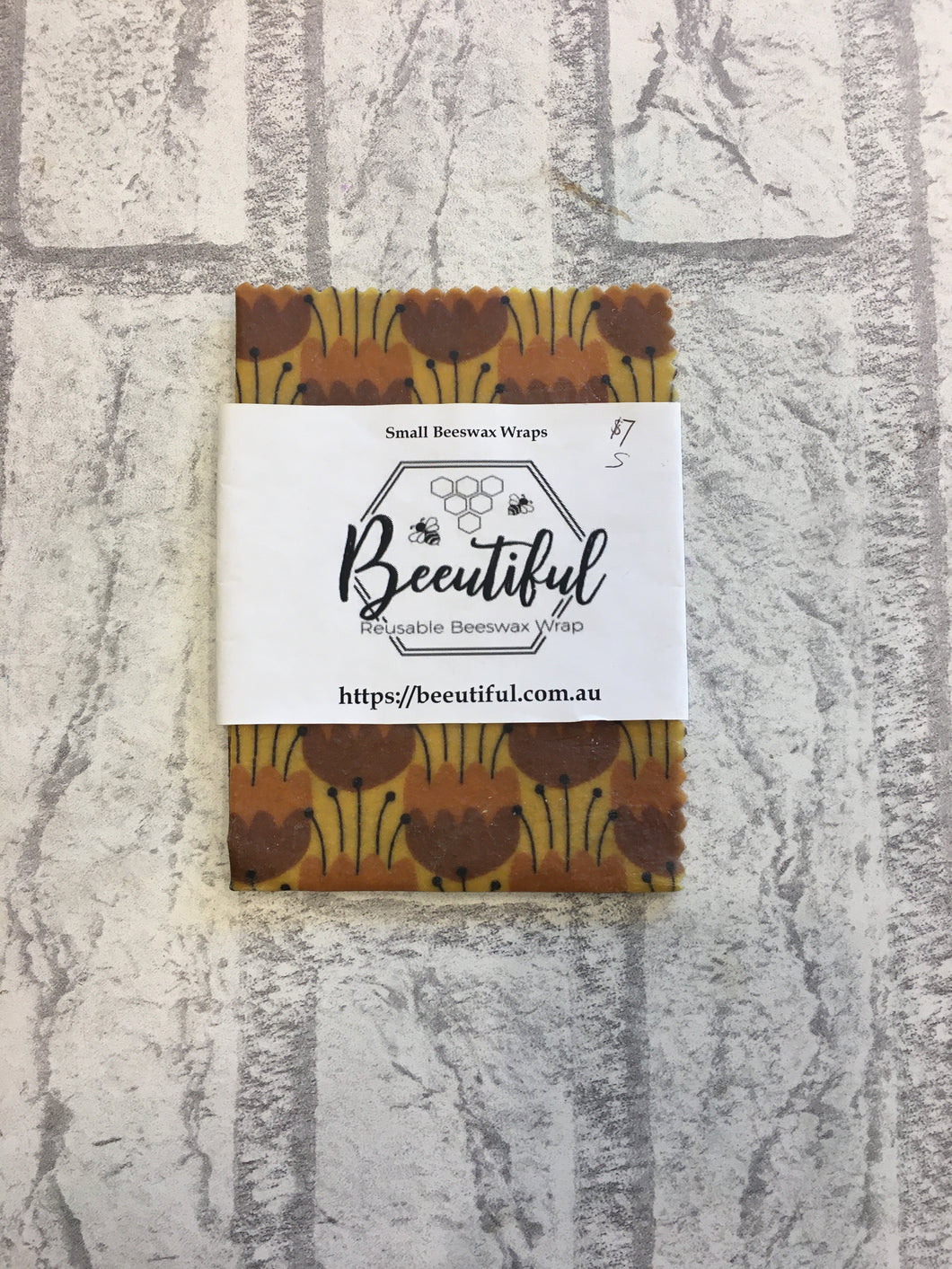 ビー ワックス ラップ Beeswax Wraps (Reusable) Small x 1