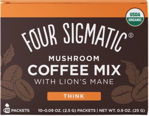 マシュルーム コーヒー ミックス Mushroom Coffee Mix Packets  With Lion's Mane 10 x 2.5g