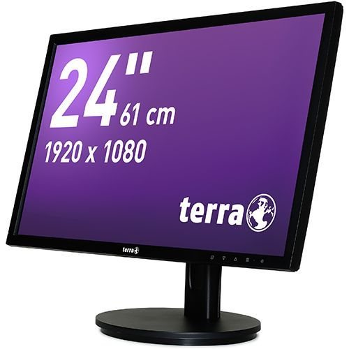 TERRA LED 2435W HA schwarz DP+HDMI GREENLINE PLUS