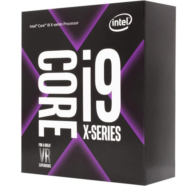 CPU Intel Core i9-7920X / LGA2066 / Box 12-Cores - 24 Threads - 16.5 MB Cache-Speicher -