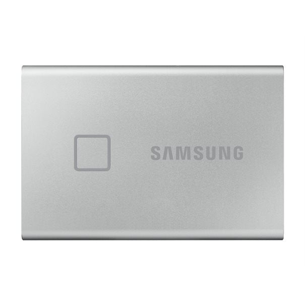 Samsung SSDex Portable T7 Touch Series 500GB Silver USB 3.2 (Gen2) Metallic Silver