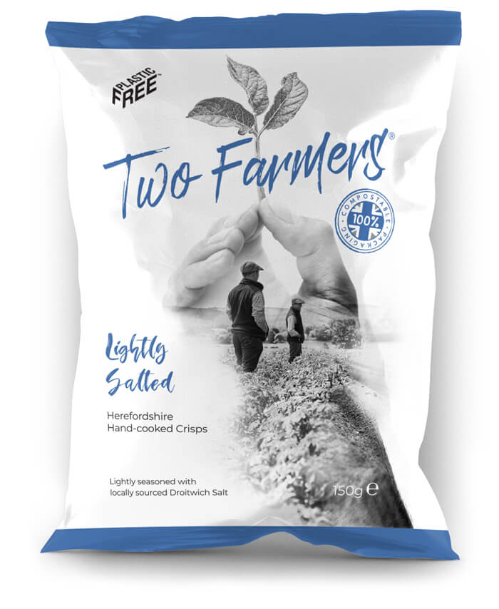 Two Farmers Crisps - Lightly Salted (150g)