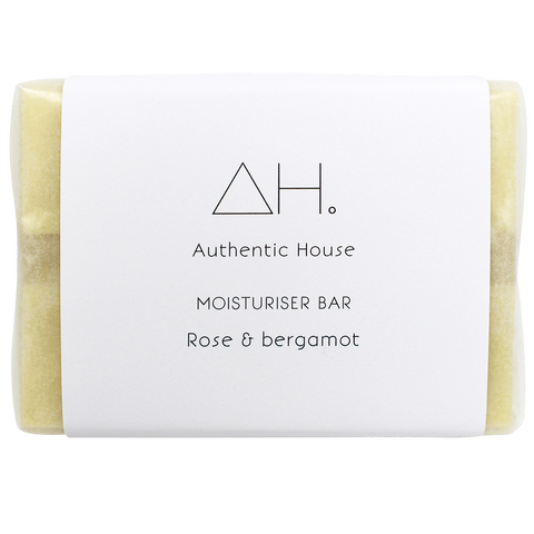 Moisturiser Bar - Rose and Bergamot (70g)