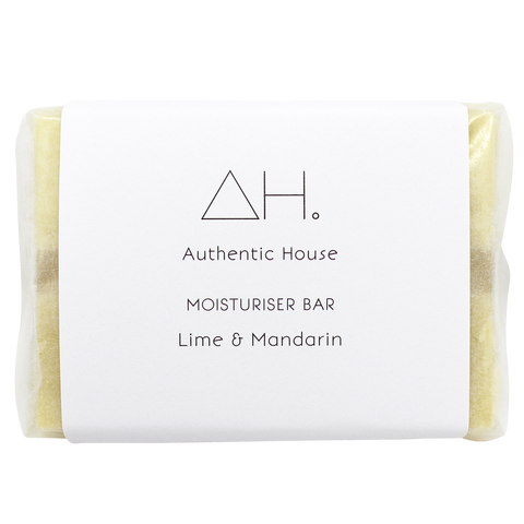Moisturiser Bar - Lime and Mandarin (70g)