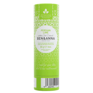 Ben and Anna Natural Deodorant - Persian Lime