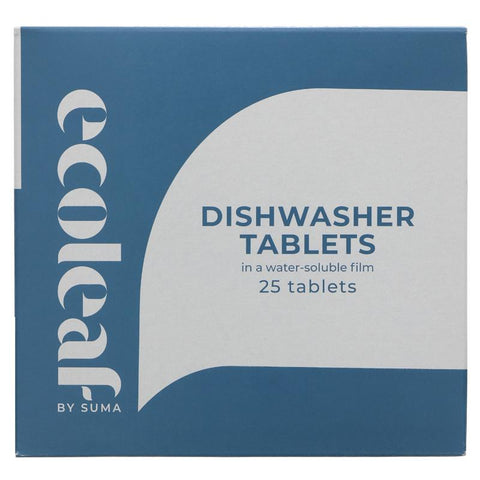 Ecoleaf Dishwasher Tablets (Box of 25)
