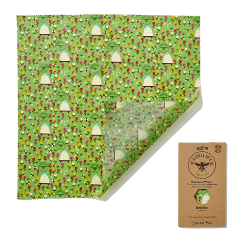 Beeswax Wrap Co. Bread Wrap (Meadow)