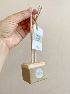 Soap  on a Rope - 130g (Organic Oatmilk)