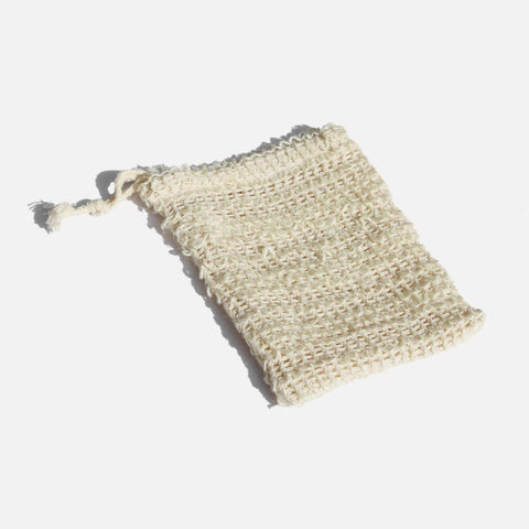 Natural Fibre Soap Saver Pouch