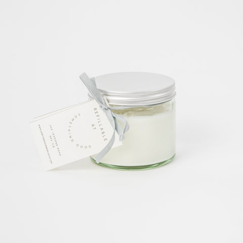 Hand and Body Lotion - 250ml Refillable Glass Jar (Limeflower and Bergamot)