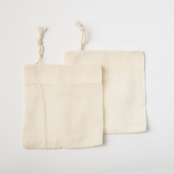 Organic Reusable Tea Bags (Set of 2)