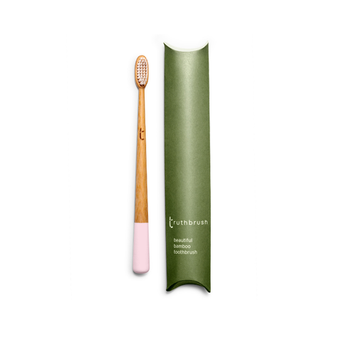 Bamboo Toothbrush - Adult (Pink)