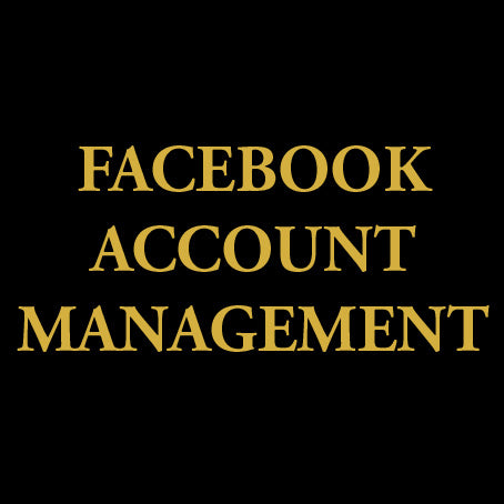facebook account management agency